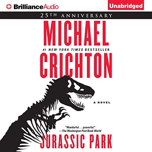 13) Jurassic Park by Michael Crichton