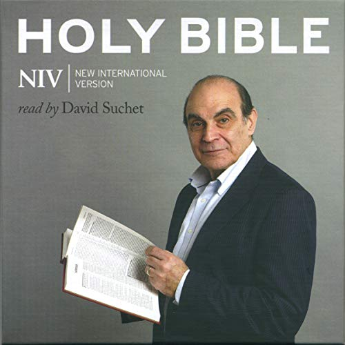 8) David Suchet Audio Bible - New International Version
