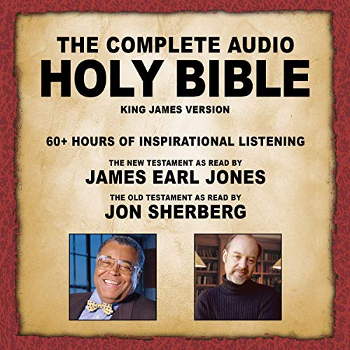 5) The Complete Audio Holy Bible - KJV: The New Testament as Read by James Earl Jones