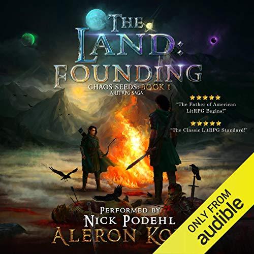 3) The Land: Founding: A LitRPG Saga: Chaos Seeds,