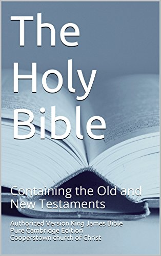7) The Holy Bible - Authorized King James Version Pure Cambridge Edition: Containing the Old and New Testaments