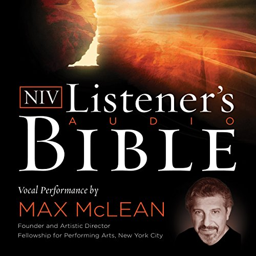 16) Listener's Audio Bible - New International Version, NIV: Complete Bible: Vocal Performance by Max McLean