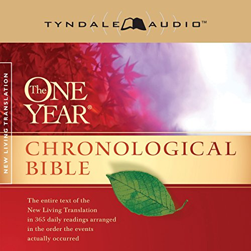 4) The One Year Chronological Bible NLT