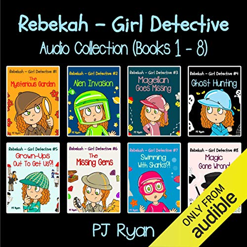 2) Rebekah - Girl Detective Books - Fun Short Story Mysteries