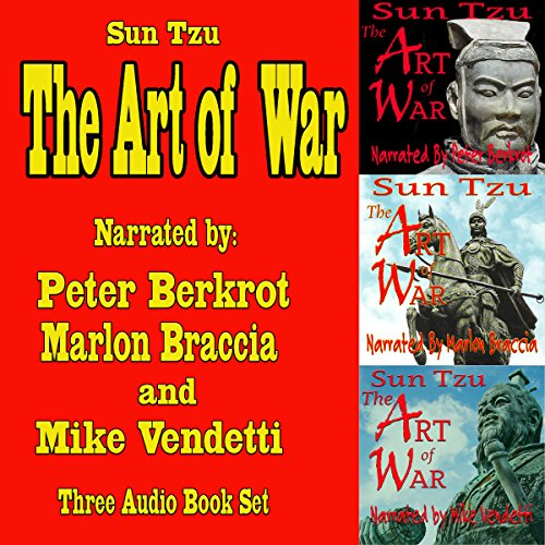 24) The Art of War: Three Complete Audiobook Set
