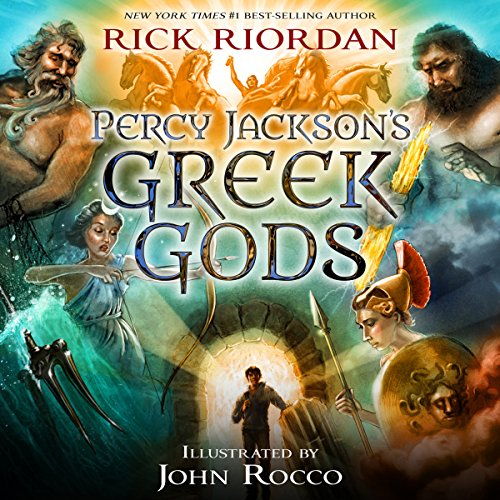 1) Percy Jackson's Greek Gods (A Percy Jackson and the Olympians Guide)