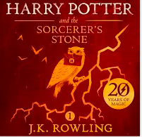 Harry Potter and Socerer's stone by J.K. Rowling