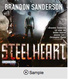 Brandon Sanderson by Steelheart